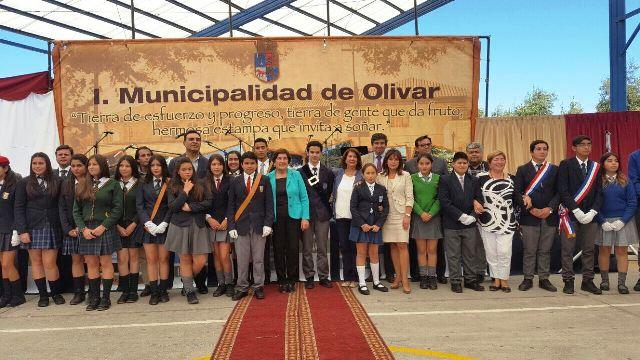 En Olivar se dio el inicio del Año Escolar 2017 para toda la provincia de Cachapoal