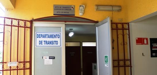Departamento de Tránsito de la Municipalidad de Olivar no atenderá público el jueves 13 de abril