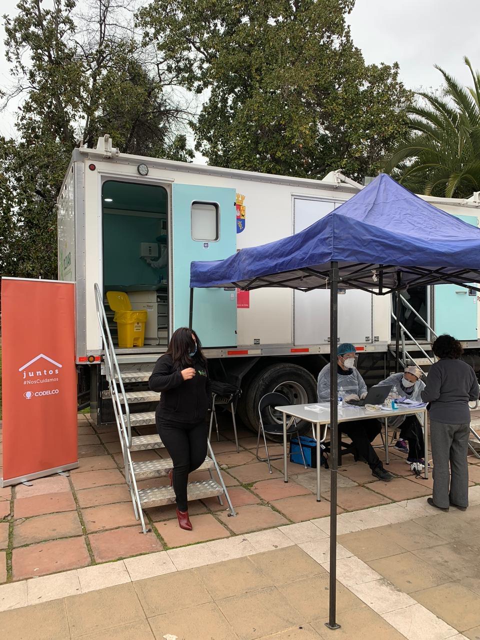 Municipalidad de Olivar y Codelco Chile realizan operativos de toma de PCR en terreno5