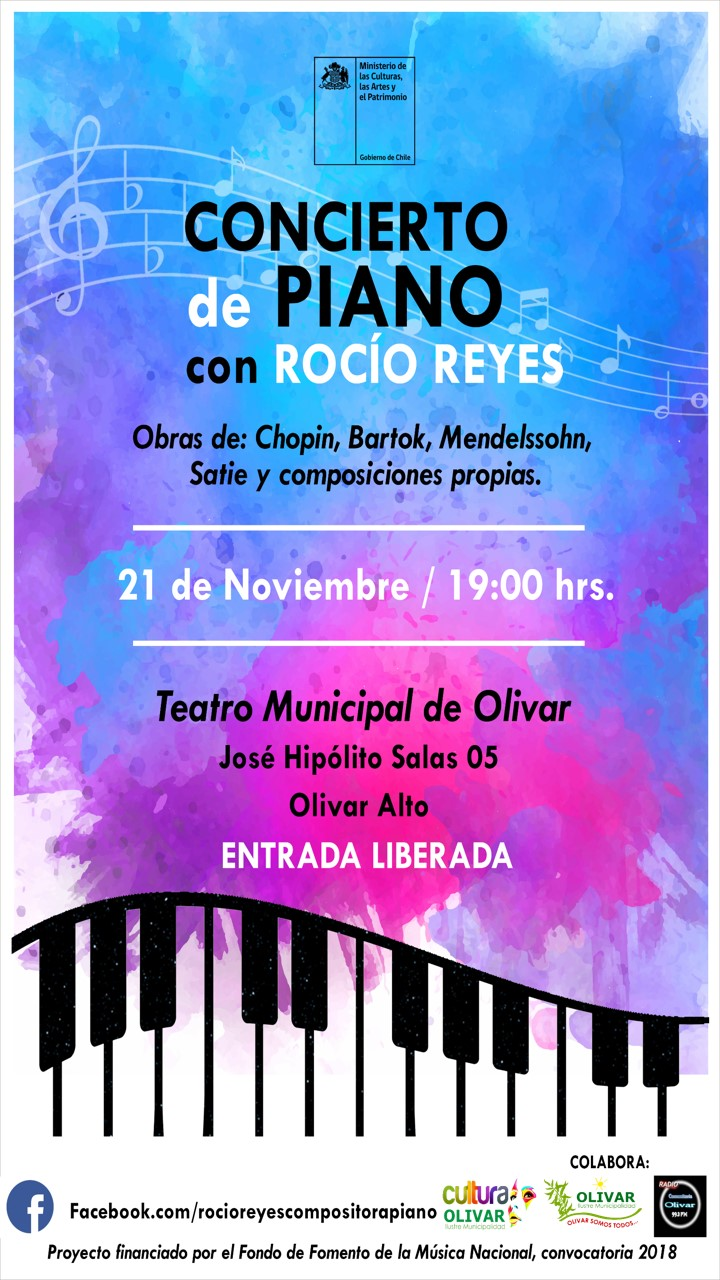 Imperdible: Concierto de Piano gratuito