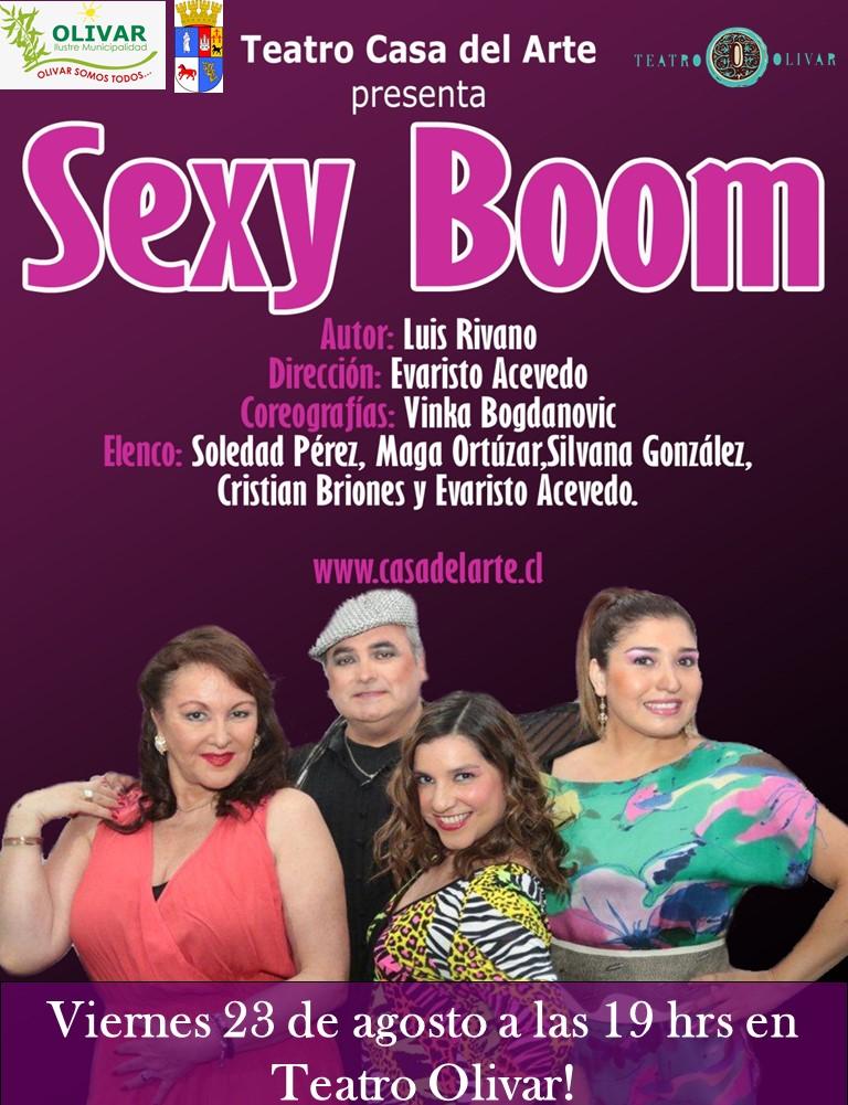 """Teatro Gratis: Casa del Arte presenta """"Sexy Boom"""""""