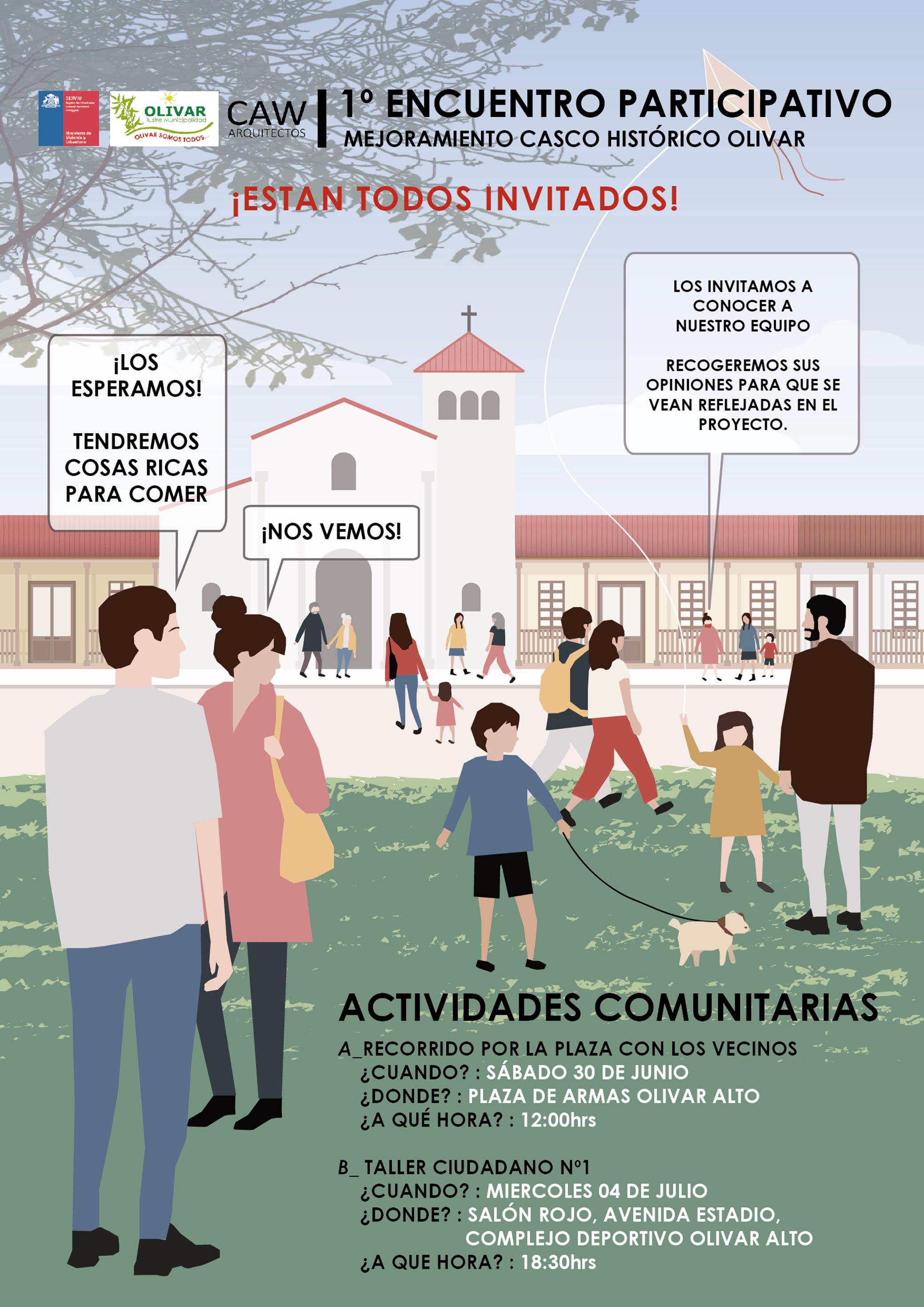 """Participación Ciudadana para el diseño del proyecto """"Mejoramiento del Casco Histórico"""""""