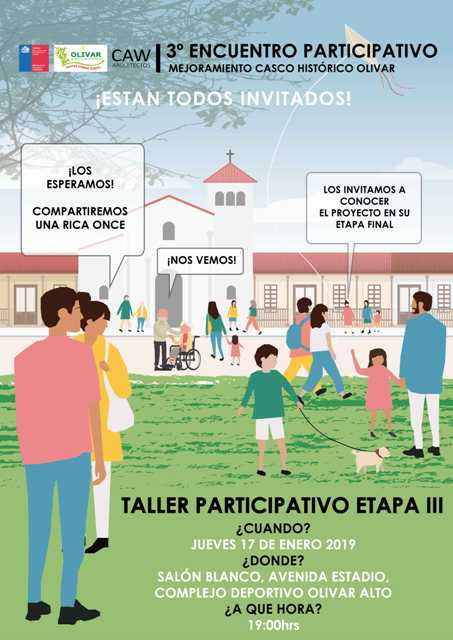Diseño del Mejoramiento Casco Histórico de Olivar: Etapa Final