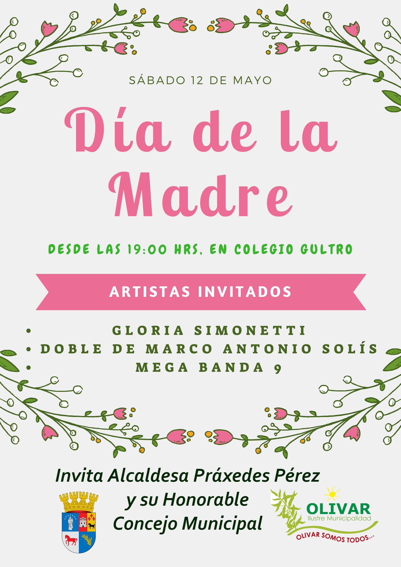 Celebración Día de la Madre