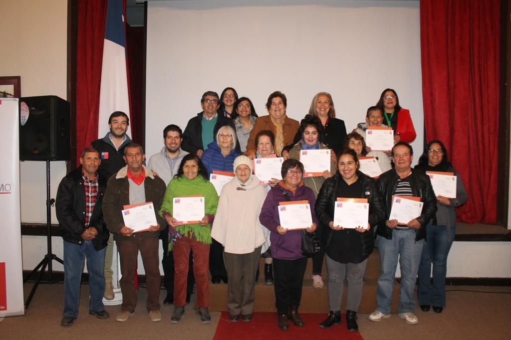 15 Familias de Olivar mejoraron sus condiciones de vida con el Programa Autoconsumo