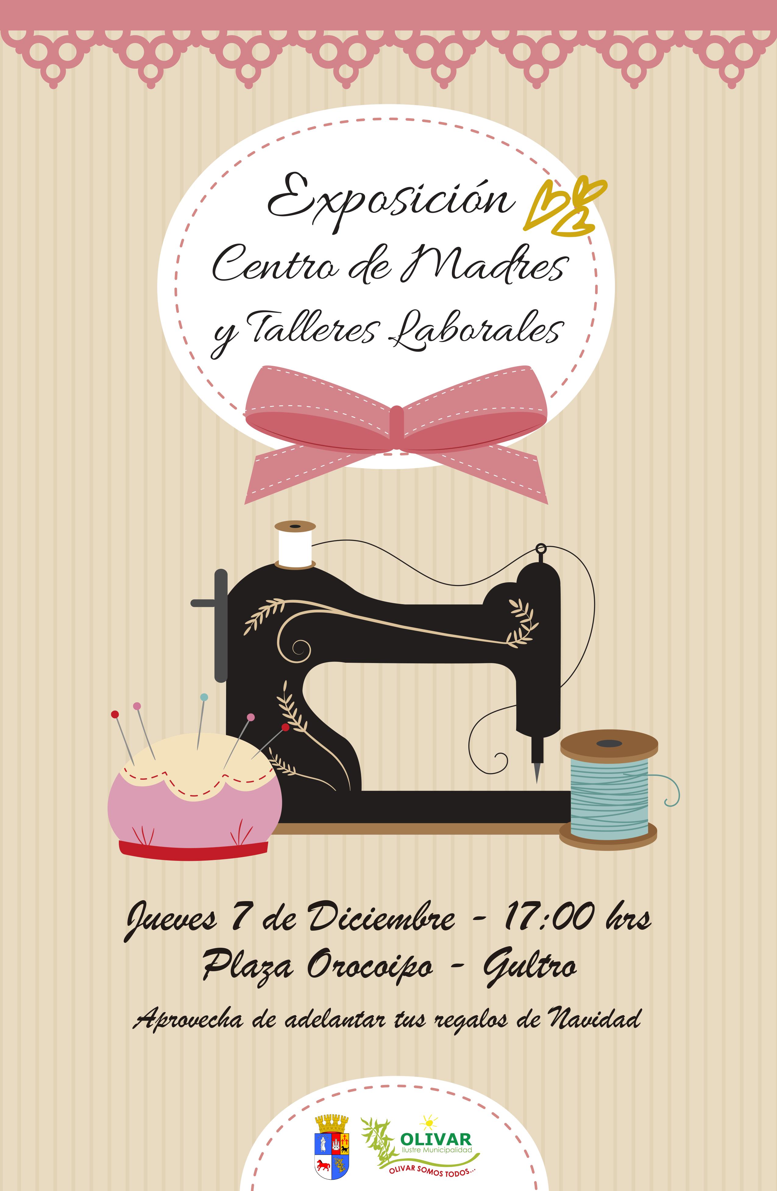 Exposición Centro de Madres y Talleres Laborales