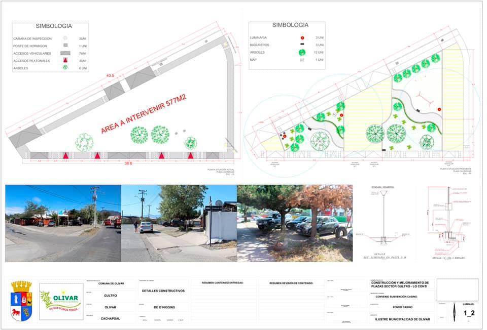 Emblemáticas áreas verdes para sectores de Olivar