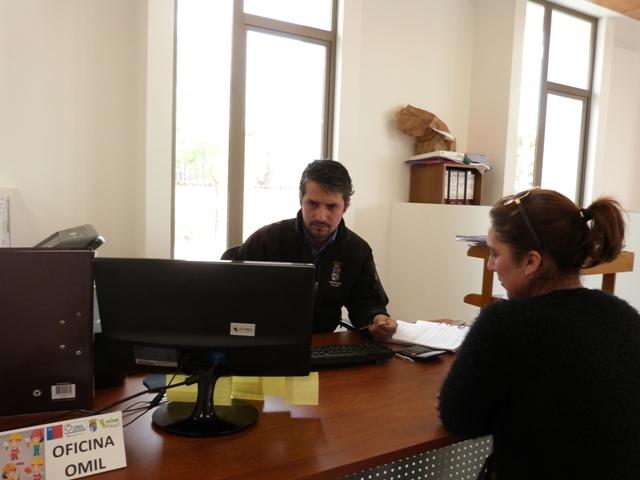 Alcaldesa de Olivar  destaca la importancia del trabajo que realiza la Omil