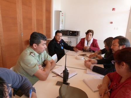 Alcaldesa de Olivar encabeza reunión preventiva de emergencias
