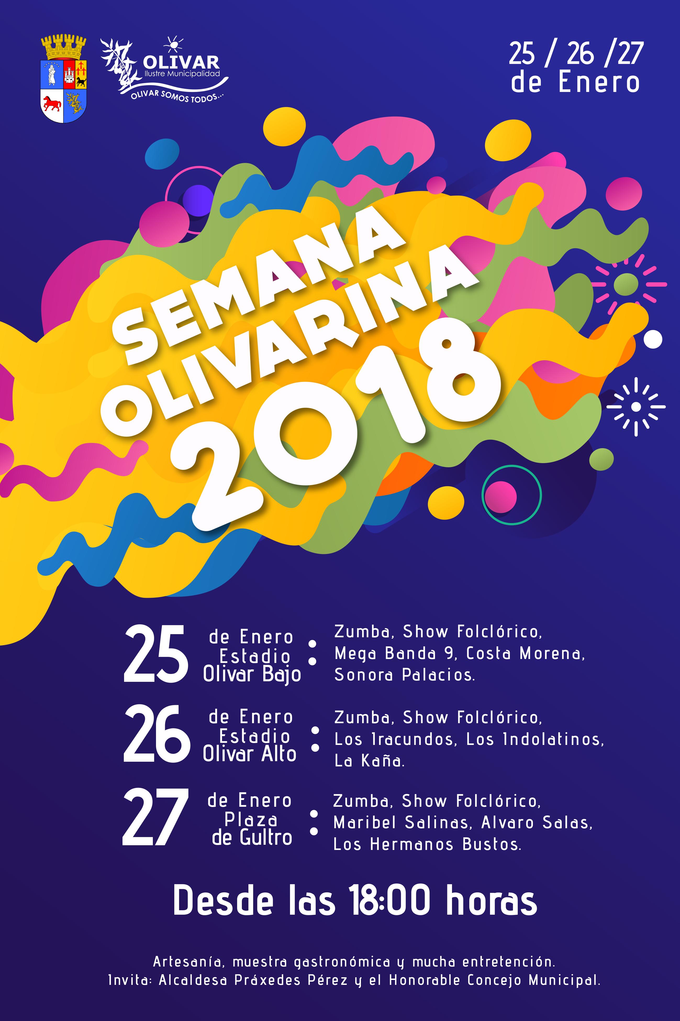 Programa Fiesta Olivarina ¡No te lo puedes perder!