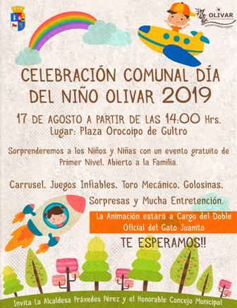 Celebración comunal Día del Niño