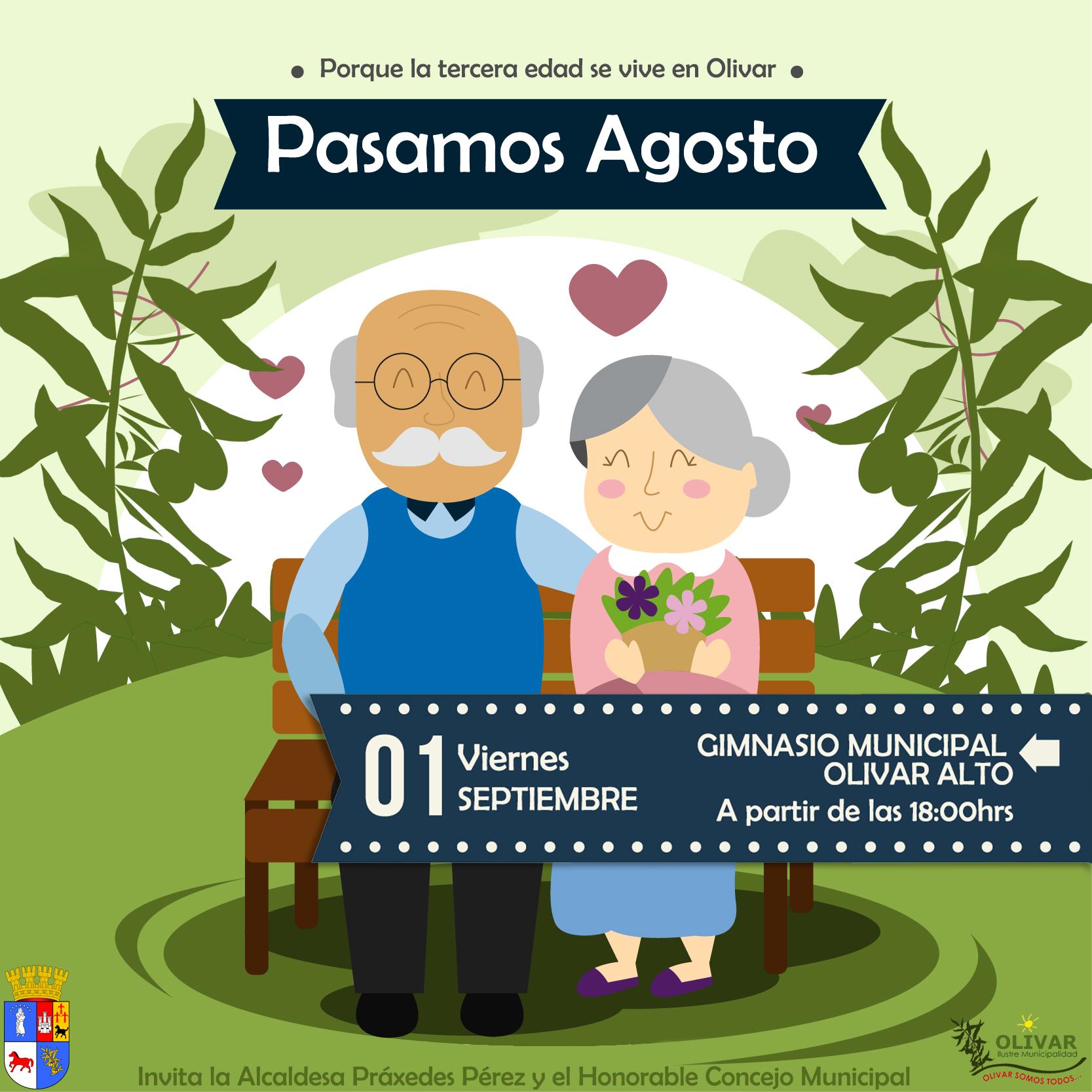 """Celebración comunal """"Pasamos Agosto"""""""