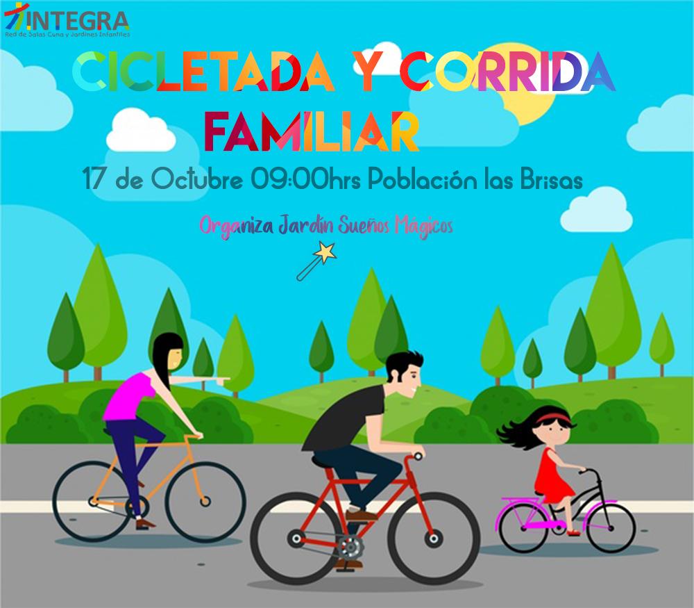 En Gultro se realizará gran cicletada y corrida familiar