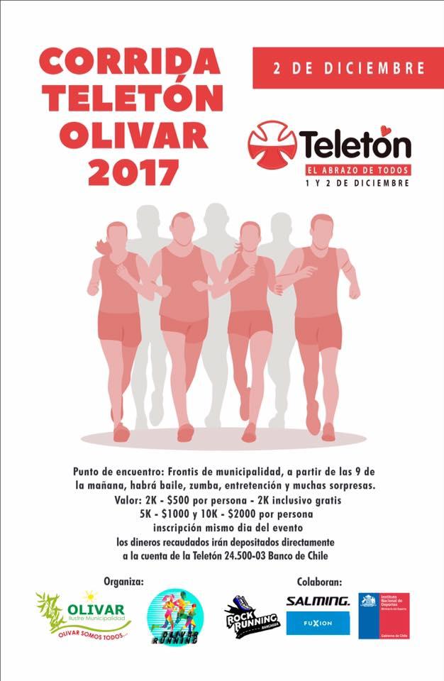 CORRIDA INCLUSIVA TELETÓN 2017