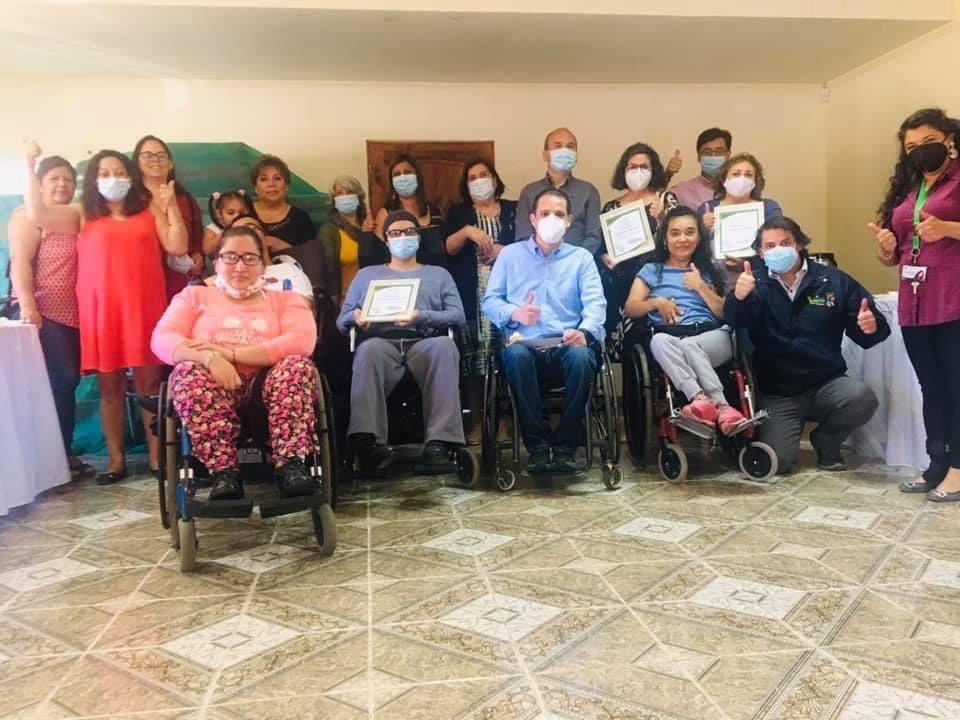 Con emotivo encuentro se conmemora Día de la Discapacidad en Olivar