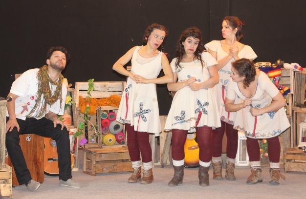 """Obra de Teatro """"La Violeta quiere ser canción""""  se presentará para los niños de  Olivar"""
