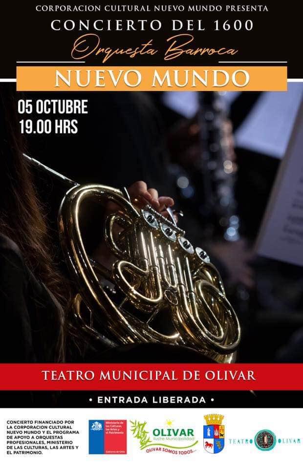 La orquesta NuevoMundo llega con el esplendor de la música del 1600 a Olivar