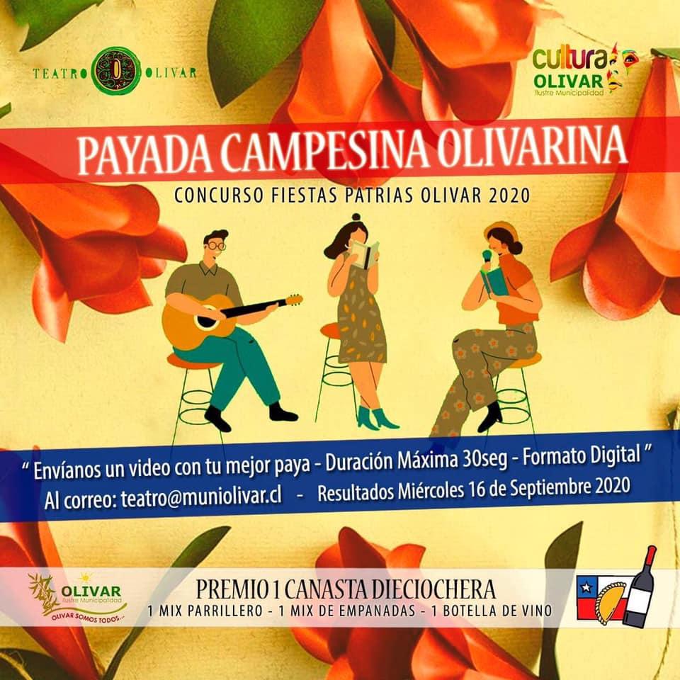 Concurso dieciochero : Payada campesina Olivarina