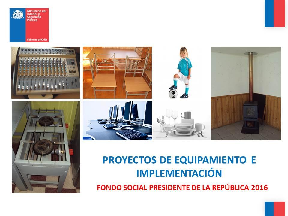 Infórmate sobre el inicio de postulación al Fondo Social Presidente de la República