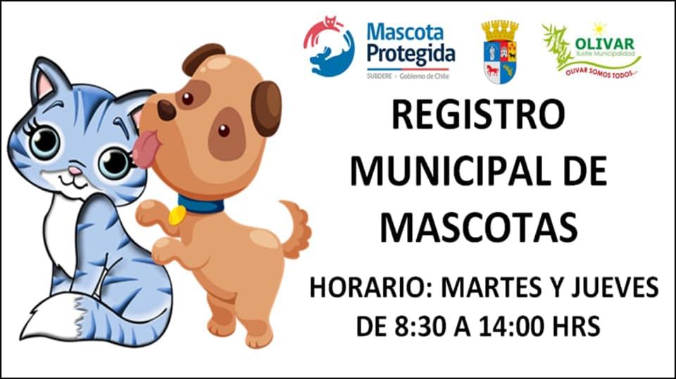 Horario de atención REGISTRO MUNICIPAL DE MASCOTAS