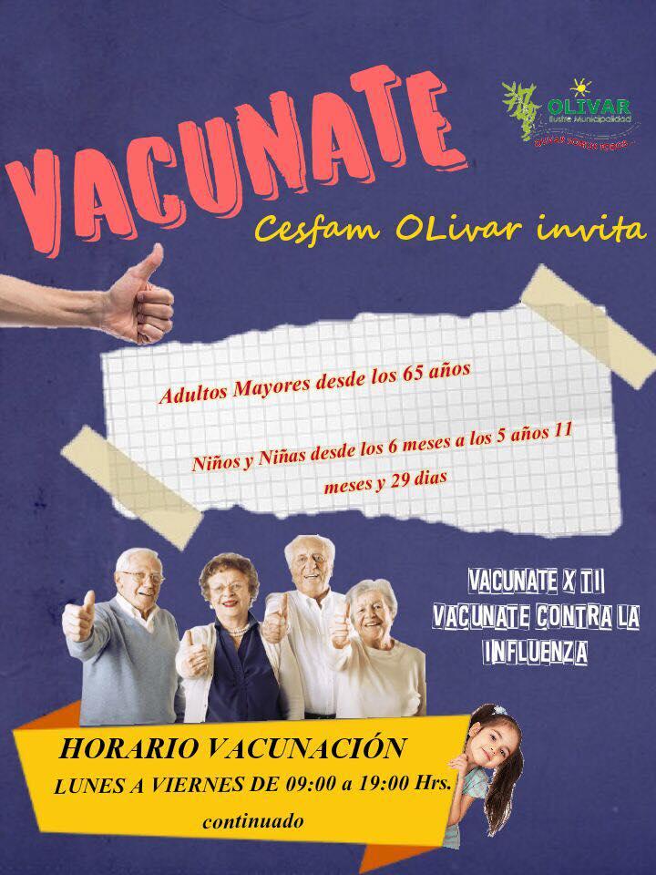 Vacunación Influenza 2018