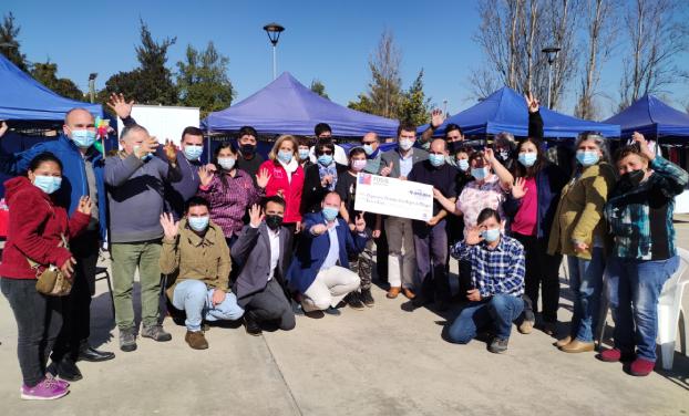 Feria Cultural Gultro Las Pulgas de Olivar se adjudicó fondos del FOSIS
