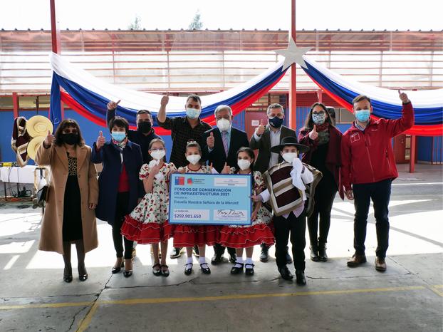 Escuela Nuestra Señora de la Merced de Olivar Bajo recibió importantes recursos del MINEDUC